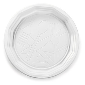 Plato de plástico