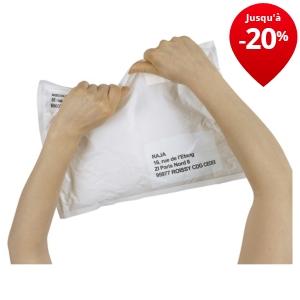 Pochette plastique opaque ind chirable et imperm able - Pochettes plastiques transparentes ...