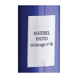 Porte-étiquette adhésif et étiquette imprimable