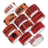 PVC Warnband mit Standardaufdruck