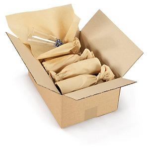 Papier de soie brun économique