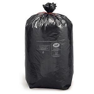 Sac poubelle déchets courants noir