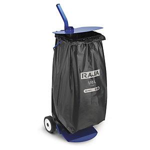Soporte móvil para bolsa de basura