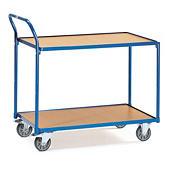 Stabiler Etagen-Transportwagen mit vertikalem Griff