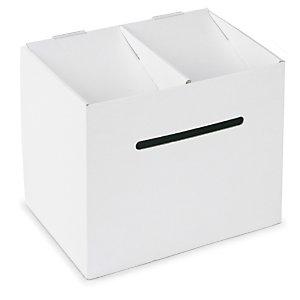 urne en carton fournitures de bureau raja. Black Bedroom Furniture Sets. Home Design Ideas