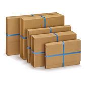Versterkte postverpakking zonder zelfklevende sluiting