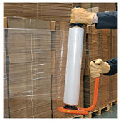 Voordeelpak transparante rekfolie met metalen handafroller