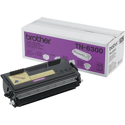 Brother TN-6300, Tóner Original, Negro, Paquete Unitario