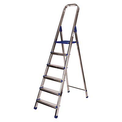 Escaleras de aluminio 6 pelda os - Escaleras de peldanos ...