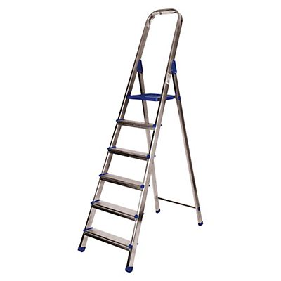 Escaleras de aluminio 6 pelda os for Escalera aluminio 5 peldanos