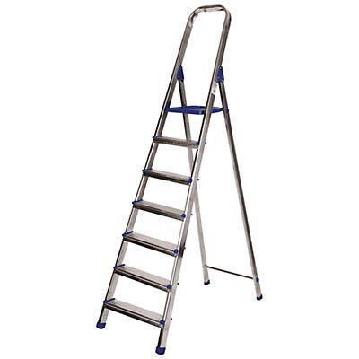Escaleras de aluminio 7 pelda os - Peldanos de escaleras ...