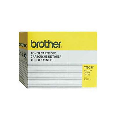 Brother TN-03 Y, TN-03Y, Tóner Original, Amarillo, Paquete Unitario