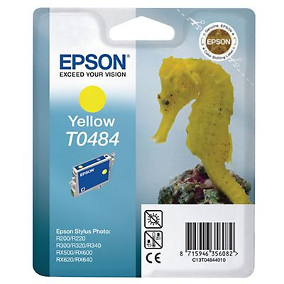 Epson T0484, C13T04844010, Cartucho de Tinta, ULTRACHROME® K3, Amarillo
