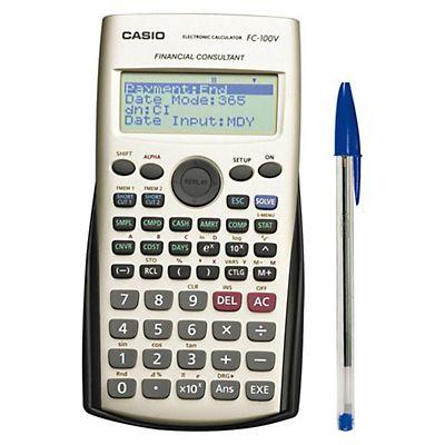3d21029c1f24 Casio FC-100V calculadora financiera