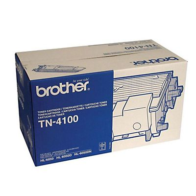 Brother TN-4100, Tóner Original, Negro, Paquete Unitario