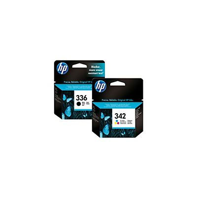 HP 336 + 342 Pack 2 cartuchos inkjet Negro, tricolor