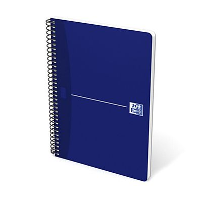 Oxford Office Cuaderno Cuadriculado 80 hojas Color azul Formato Folio
