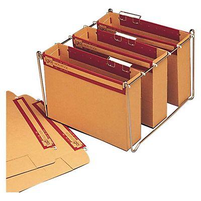 bicolor Bolsa de 10 carpetas colgantes para caj/ón A4 Elba Gio