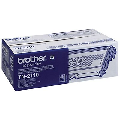 Brother TN-2110, Tóner Original, Negro, Paquete Unitario