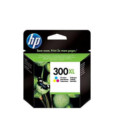 HP 300XL, CC644EE, Cartucho de Tinta, Tricolor