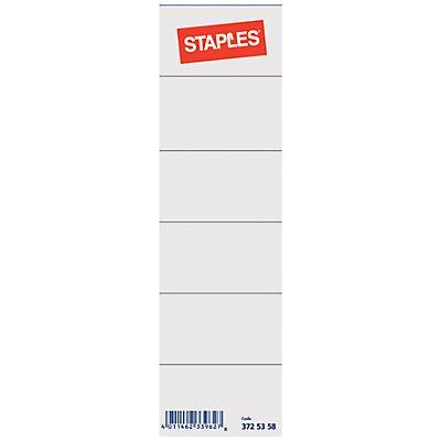 Staples Etiqueta lomera para archivador - lomo ancho | Kalamazoo.es