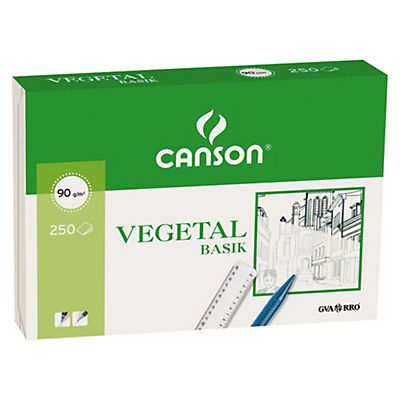 CANSON Papel vegetal - 250 hojas (A4)