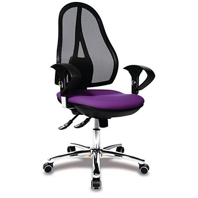 Silla de oficina Open Point Sincro Deluxe violeta