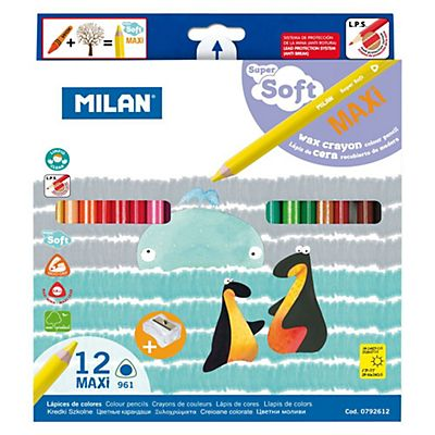 MILAN Maxi Super Soft Lápices de colores