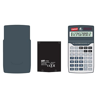 Staples Travel calculadora de bolsillo