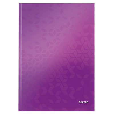 Leitz Wow Cuaderno Cuadriculado 80 hojas Color púrpura Formato A4 ...