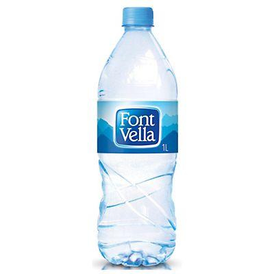 Font vella agua mineral sin gas botella de pl stico for Plasticos para estanques de agua