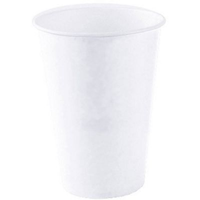 Staples Vasos de papel desechables blancos, 200 ml
