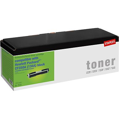 Staples Reciclado HP 130A Tóner negro