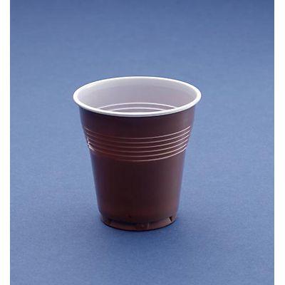 fiesta 200ml Mejor Valor 100 tazas de plástico transparente desechables para expendedoras