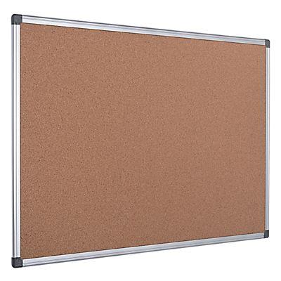 Bi-Office Maya, Tablón de anuncios de corcho, marco de aluminio, 600 ...