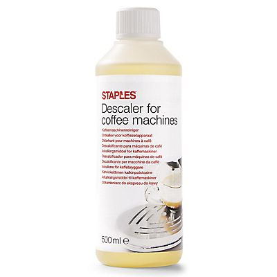 Staples Descalcificador para cafeteras, concentrado transparente, 500 ml