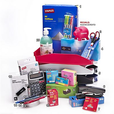 Staples Pack ahorro: 20 Productos Imprescindibles