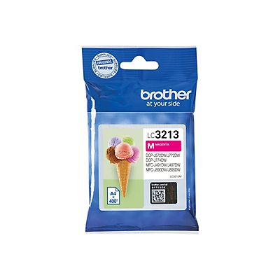 Brother LC3213 M, Cartucho de Tinta, Magenta, Alta capacidad