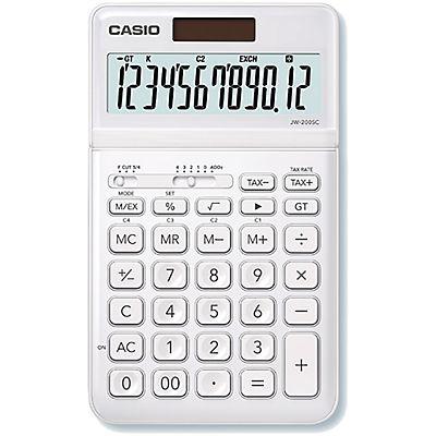 Casio Jw 200sc Calculadora De Escritorio Colorful Calculator Ms 20uc Black Bk Blanca