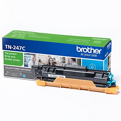Brother TN-247, TN247C, Tóner Original, Cian, Alta Capacidad