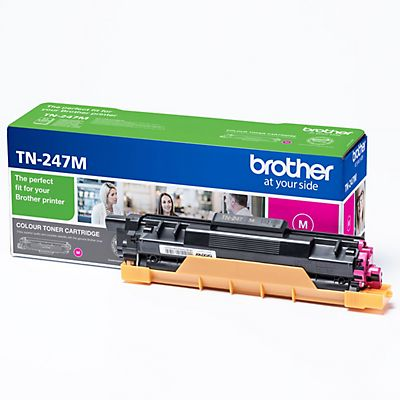 Brother TN-247, TN247M, Tóner Original, Magenta, Alta Capacidad