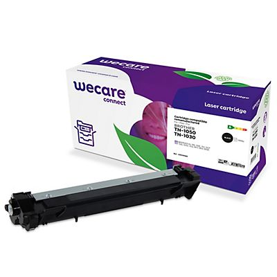 Wecare TN-1050, Tóner remanufacturado, compatible con BROTHER, Negro