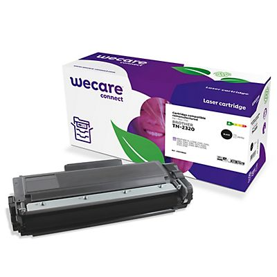 Wecare TN-2320, Tóner remanufacturado, compatible con BROTHER, Negro