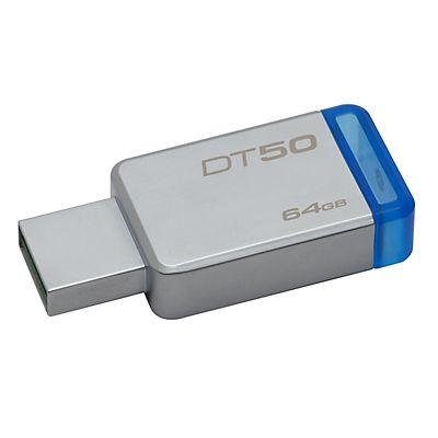 Kingston DataTraveler 50 Pen drive USB 3.0, 64 GB