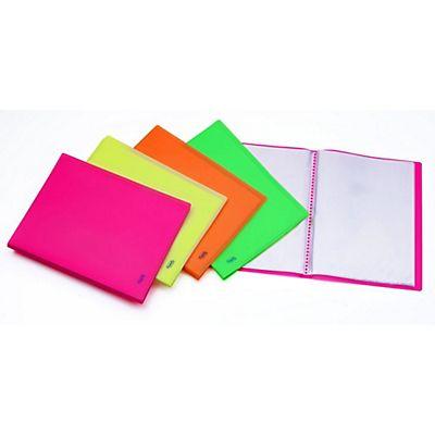 80/fogli tasche trasparenti rosa Portalistino 40/buste portadocumenti formato A4/presentazione