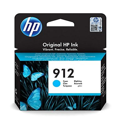 HP Cartuccia inkjet 912, Ciano, 2,93 ml