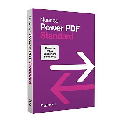 Nuance Software Power PDF Standard,  Versione 2.0
