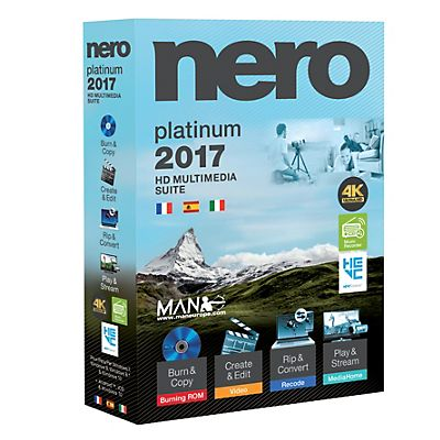 Nero Software 2017 Platinum