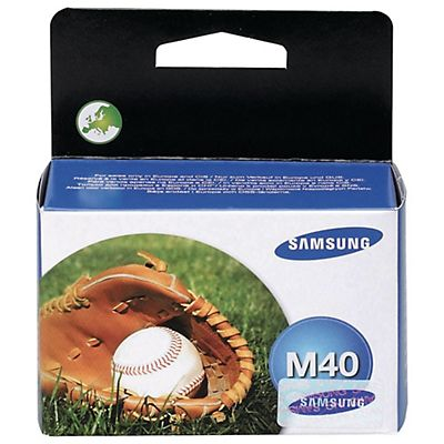 Samsung Cartuccia inkjet M40, INK-M40/ELS, Nero, Pacco singolo