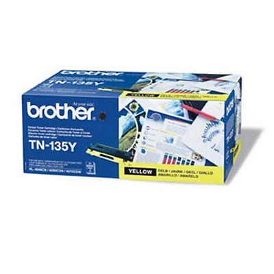Brother Toner originale TN-135Y, Giallo, Pacco singolo
